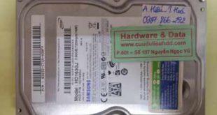phục hồi dữ liệu HD163GJ