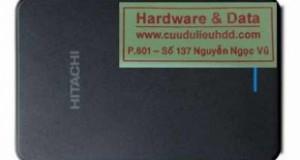Cứu dữ liệu ổ cứng di động Hitachi bị format