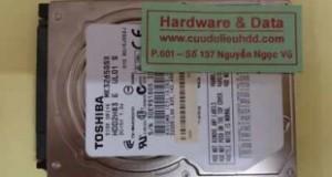 Khôi phục dữ liệu ổ cứng Toshiba mất dữ liệu