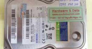 Cứu dữ liệu HDD PC Samsung không nhận