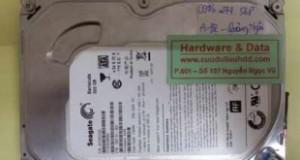 Phục hồi dữ liệu ổ cứng Seagate hỏng đầu đọc