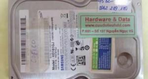 Khôi phục dữ liệu ổ cứng Samsung 160GB hỏng đầu từ
