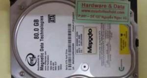 cứu dữ liệu Maxtor 80GB