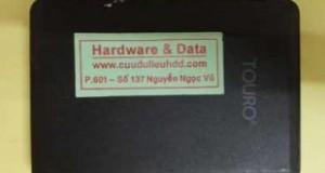 Khôi phục dữ liệu Hitachi Touro 1TB