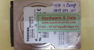 Lấy lại dữ liệu ổ cứng Toshiba 320Gb chết cơ