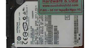 Phục hồi dữ liệu ổ cứng Hitachi 320Gb lỗi 1/3 đầu từ