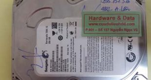 Phục hồi dữ liệu ổ cứng máy bàn Seagate kêu