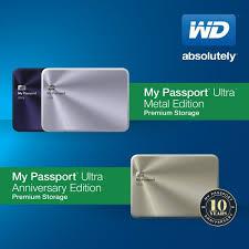 Bộ đôi sản phẩm WD My Passport hoàn hảo nhất