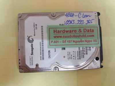 Cứu dữ liệu Seagate-320GB