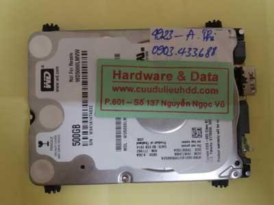 Khôi phục dữ liệu WD5000LMVVW