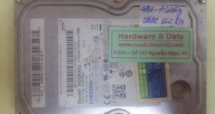 Cứu dữ liệu ổ cứng máy bàn Samsung không nhận