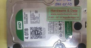 Phục hồi dữ liệu ổ cứng Western bị hỏng