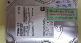 Phục hồi dữ liệu ổ cứng Toshiba hỏng đầu từ