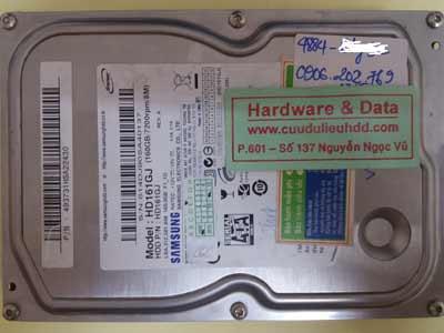 Cứu dữ liệu ổ cứng HD161GJ