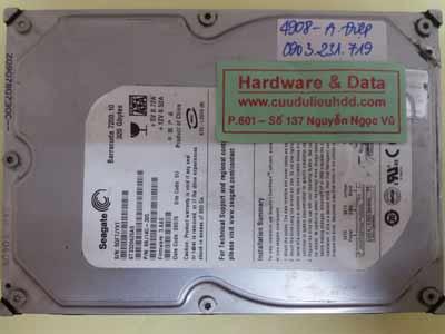 Lấy lại dữ liệu Seagate-320GB