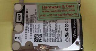 Khôi phục dữ liệu ổ cứng Western mất dữ liệu