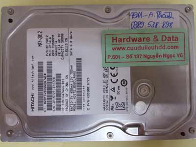 Lấy lại dữ liệu Hitachi500gb
