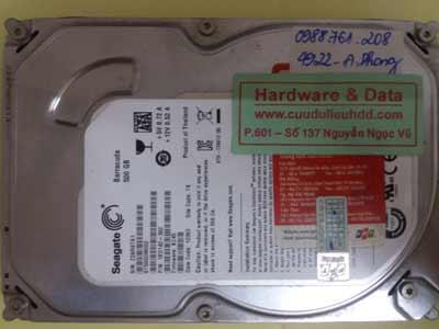 Khôi phục dữ liệu ST500DM002