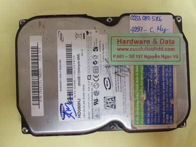 khôi phục dữ liệu HD080HJ