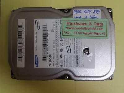 Phục hồi dữ liệu SP1604N