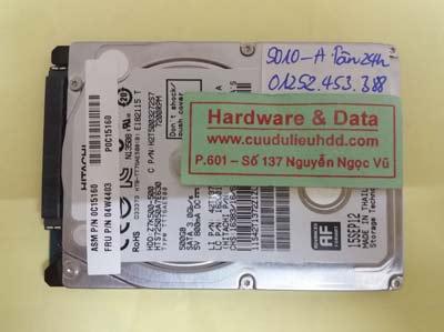 khôi phục dữ liệu HTS725050A7E630