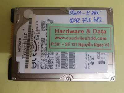 cứu dữ liệu ổ cứng HTS424040M9AT00