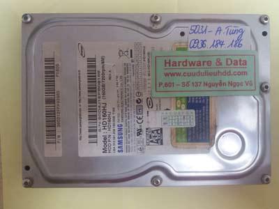 Cứu dữ liệu HD160HJ