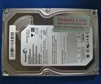 lấy lại dữ liệu Seagate 160GB