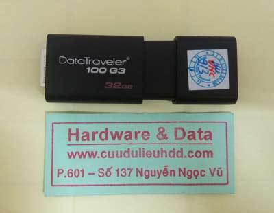 Khôi phục dữ liệu USB 32GB