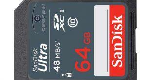 phục hồi dữ thẻ 64GB