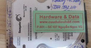 Khôi phục dữ liệu Seagate 320GB