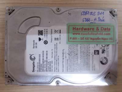 khôi phục dữ liệu ST320DM000