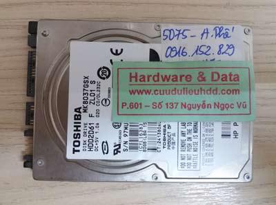 khôi phục dữ liệu MK8037GSX