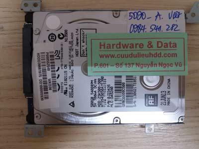 lấy lại dữ liệu HTS545050A7E380