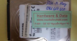Phục hồi dữ liệu Toshiba 320GB