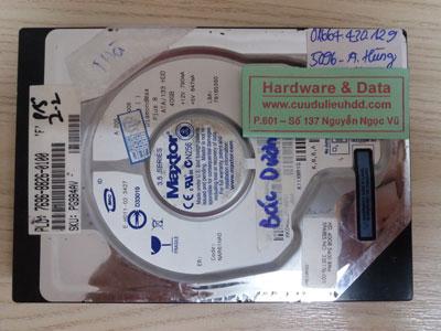 Cứu dữ liệu Maxtor 40GB