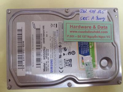 khôi phục dữ liệu HD322HJ