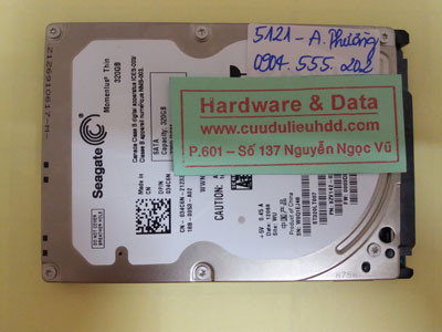 cứu dữ liệu ST320LT007