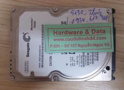 lấy lại dữ liệu ST9750420AS