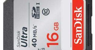 Phục hồi dữ liệu thẻ nhớ máy ảnh SD 16GB