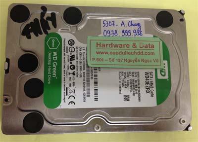 Khôi phục dữ liệu ổ cứng Western 4TB
