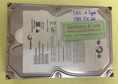 Lấy lại dữ liệu ổ cứng Seagate 1,5TB