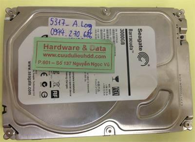 Lấy lại dữ liệu ổ cứng Seagate 3TB chết cơ