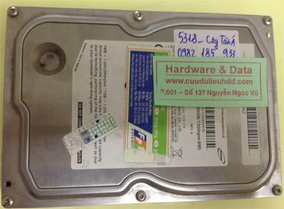 Cứu dữ liệu ổ cứng Samsung 160GB