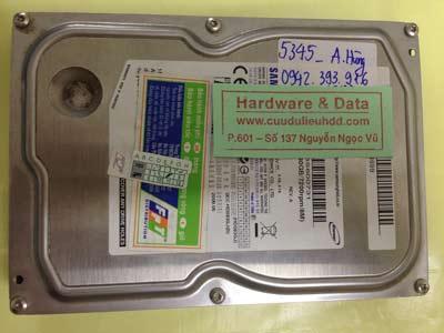 Phục hồi dữ liệu cho ổ cứng Samsung 80GB