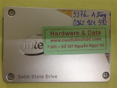 Phục hồi dữ liệu ổ SSD 240GB lỗi, treo máy mất dữ liệu