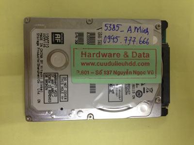 Cứu dữ liệu ổ cứng Hitachi 500GB