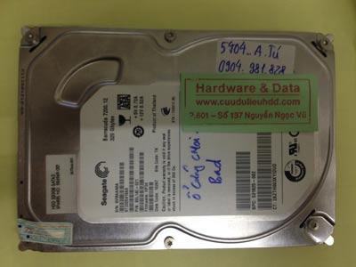 Cứu dữ liệu ổ cứng Seagate 320GB