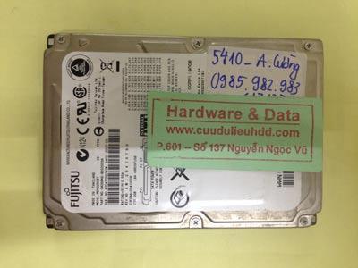 Lấy lại dữ liệu ổ cứng Fujitsu 250GB