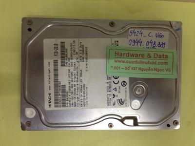 Lấy dữ liệu ổ cứng Hitachi 160GB